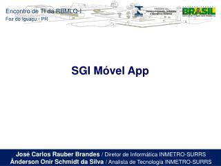 SGI Móvel App