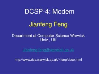 DCSP-4: Modem