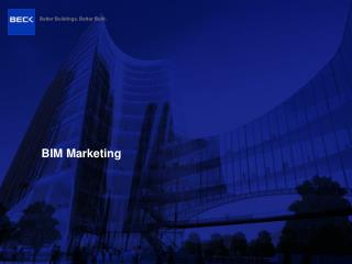 BIM Marketing