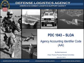 PDC 1043 – SLOA Agency Accounting Identifier Code (AAI) By Bob Hammond