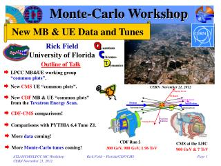Monte-Carlo Workshop
