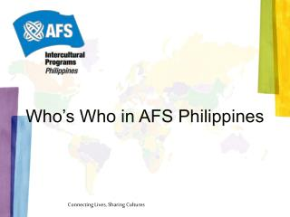 Who's Who in AFS Philippines