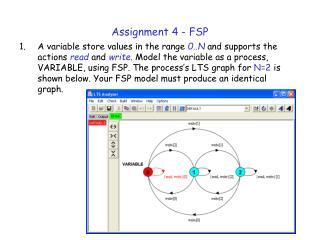 Assignment 4 - FSP