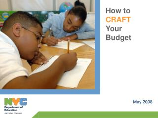 Budgets Should Be Driven by Data and Instructional Goals