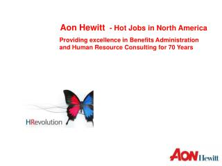Aon Hewitt   - Hot Jobs in North America