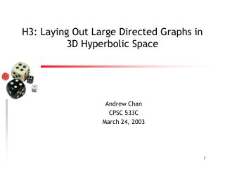 H3: Laying Out Large Directed Graphs in 3D Hyperbolic Space