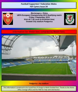 Football Supporters' Federation Wales FSF Cymru Issue 24