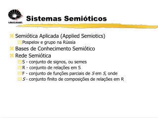 Sistemas Semióticos