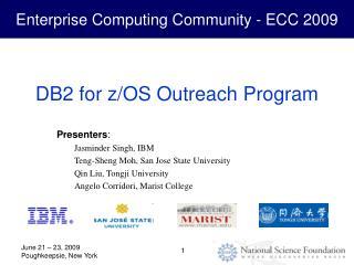 DB2 for z/OS Outreach Program