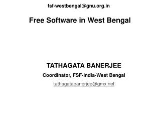 Free Software in West Bengal