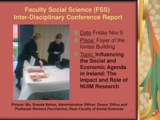 Faculty Social Science (FSS)  Inter-Disciplinary Conference Report