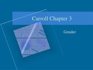Carroll Chapter 3