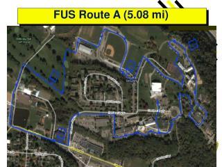 FUS Route A (5.08 mi)