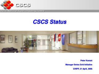 CSCS Status