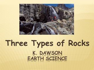 K. Dawson Earth Science