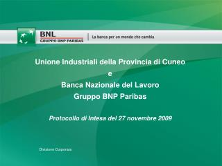 Divisione Corporate
