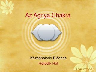 Az Agnya Chakra