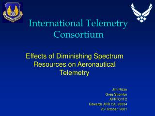 International Telemetry Consortium