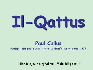 Il-Qattus