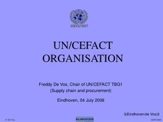 UN/CEFACT ORGANISATION