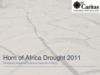 Horn of Africa Drought 2011