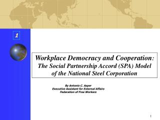 Workplace Democracy and Cooperation :  The Social Partnership Accord (SPA) Model