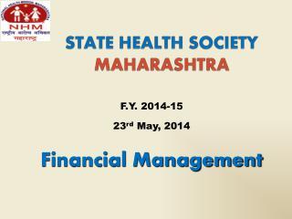 STATE HEALTH SOCIETY  MAHARASHTRA