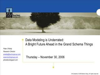 Data Modeling is Underrated: A Bright Future Ahead in the Grand Schema Things