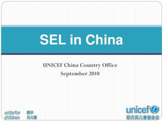 SEL in China