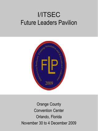 I/ITSEC Future Leaders Pavilion