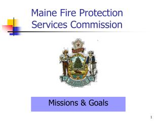 Maine Fire Protection  Services Commission