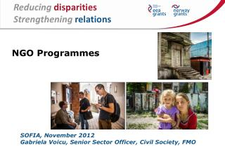 Reducing disparities Strengthening relations