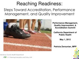 Reaching Readiness:
