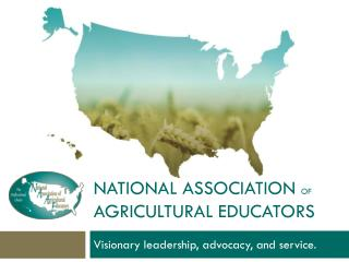 National association  of  agricultural educators