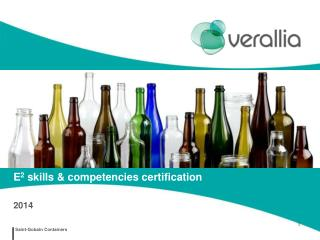 E 2  skills & competencies certification