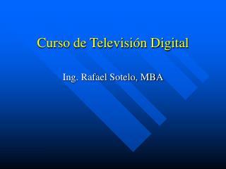 Curso de Televisión Digital