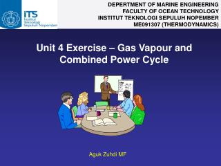 Unit 4 Exercise – Gas Vapour and Combined Power Cycle