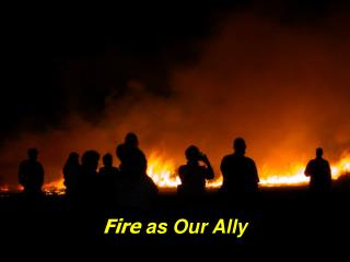 Fire  as Our Ally