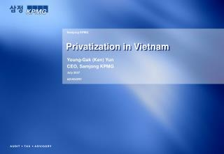 Privatization in Vietnam
