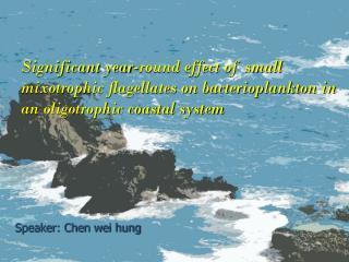 Speaker: Chen wei hung