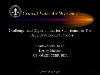 Critical Path: An Overview