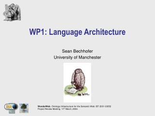 WP1: Language Architecture