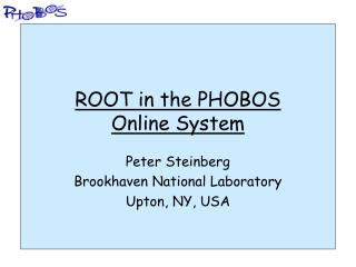 ROOT in the PHOBOS Online System