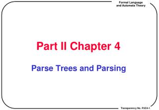 Part II Chapter 4