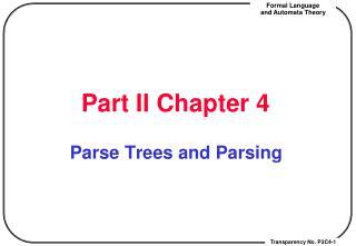 Part II Chapter 4