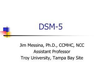 DSM-5