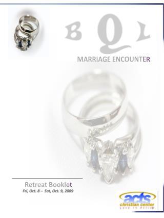 Retreat Booklet