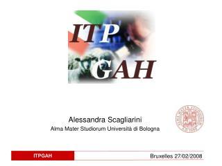 Alessandra Scagliarini Alma Mater Studiorum Università di Bologna