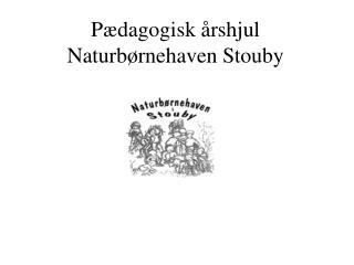 Pædagogisk årshjul Naturbørnehaven Stouby