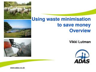 Using waste minimisation to save money Overview